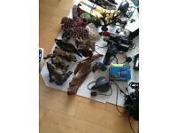 Fish tank accessories,lights,pumps heaters etc