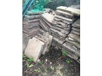 paving Slabs for collection (free)