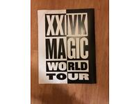 BRUNO MARS WORLD TOUR BOOK
