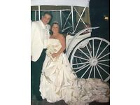 justin Alexandra wedding dress