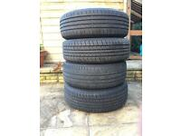 VW GOLF MK5 wheels and tyres