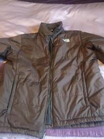 Men the north face jacket x2