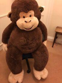 Giant Soft Toy Monkey - brand new