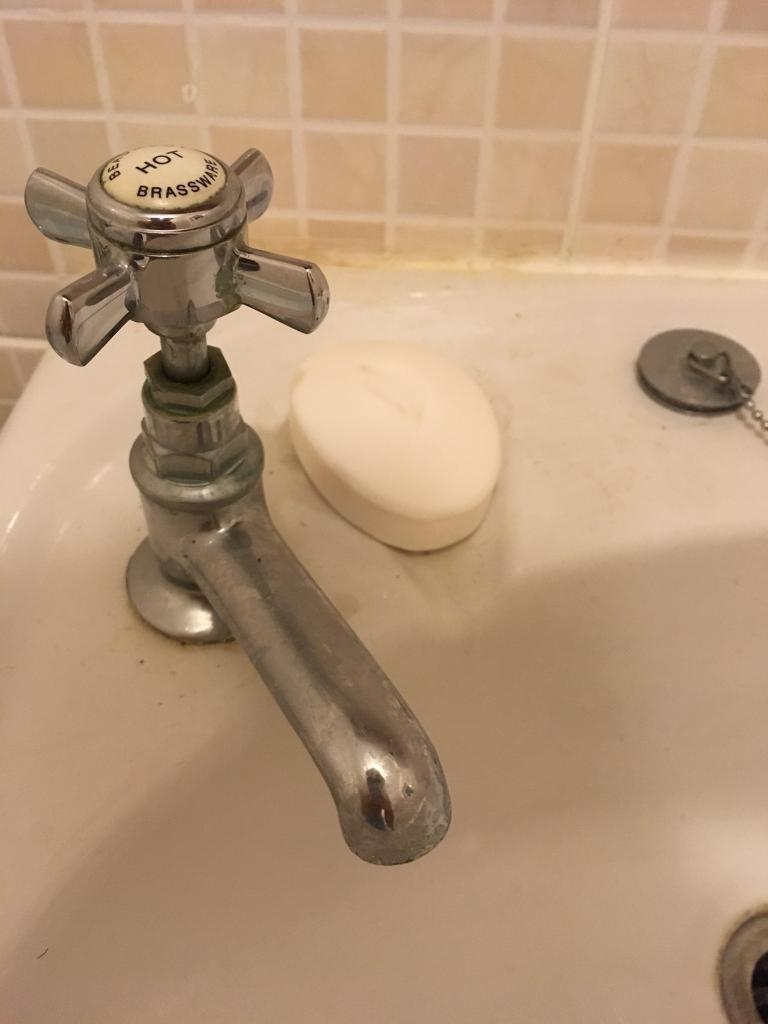 Traditional Chrome Bathroom Sink Taps   in Ipswich, Suffolk   Gumtree