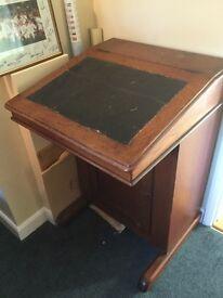 Davenport style Writing desk