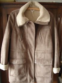 M&S Sheepskin Coat