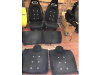 Fiat 500/595 abarth Seats