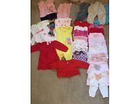 REDUCED Baby girl bundle 3-6 months