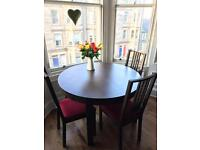 Ikea round table and chairs
