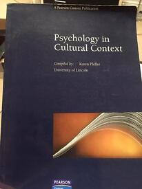 Psychology in cultural context