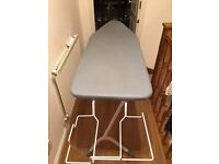 Ironing Board Extra Wide Heavy Duty with Steam Iron Stand