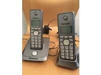 Panasonic home phones x 2 paid £129.99 selling for £30