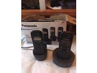 Panasonic cordless phone - twin KX-TG1212