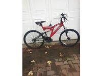 """20"""" Red Muddy Fox bike"""