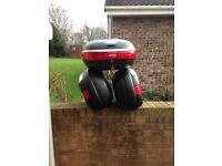 Monolock givi box for motorbike