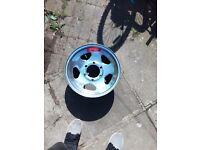 6 stud steel wheels hilux isuzu