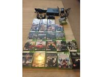 XBox 360 with Kinect 21 Games 250gb Memory