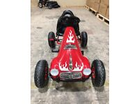 Kids Ride on Pedal Go Kart - red or pink ex-display was £79.99 NOW £40.00