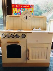 John Lewis play kitchen and accessories GC