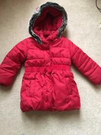 Girls jacket by Marks and Spencer 2-3 yrs