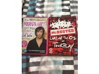 2 concert DVD. Miranda Hart and Mcbusted at the O2