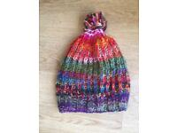 Black Yak unisex wool hat