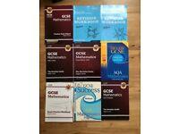GCSE Books (Maths, English, Chemistry, Physics, ICT, Sociology, Geography & French)