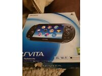 Sony PS Vita Boxed, not used.