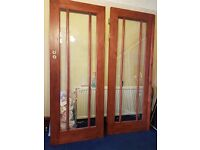 Four Internal Oak Doors (from Wickes, Excellent Condition)