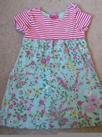 Girls Joules dress, age 18 to 24 mths