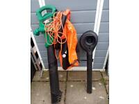 Garden vac/blower double units black and Decker very powerfull