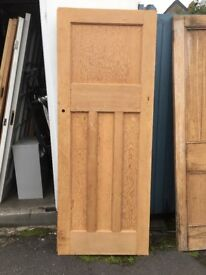 1930's Solid Wood Doors