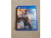 Ps4 games. Battlefield 1 and Rossi the game moto gp. £10 each