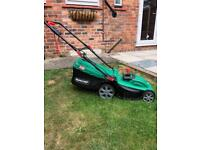 Qualcast Lawnmower and Grass Trimmer Set