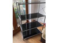 Ikea glass shelves