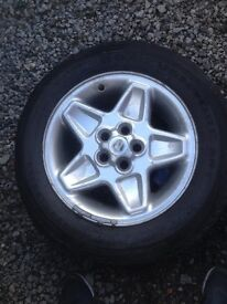 Land Rover discovery td5 wheels