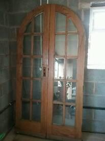 Double Glazed Oak Doors