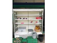 Commercial fridge used. Closing down the shop so selling this fridge. Works perfect and clean.