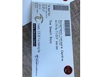 2 x Beach Boy Tickets