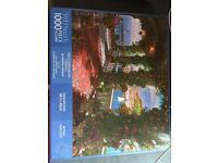 WHSmith 1000 piece jigsaw Mediterranean terrace brand new unused