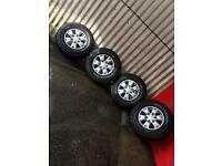 Ford ranger xlt 2013 wheels and tyres
