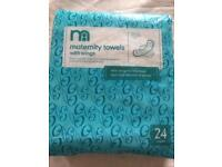 MATERNITY TOWEL PADS