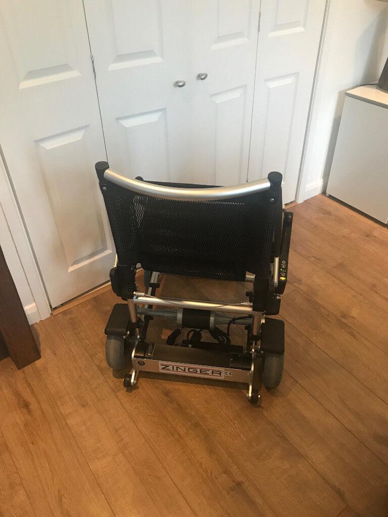 Zinger Lightweight Folding Electric Wheelchair