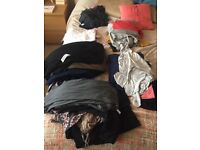 Selection of size 16 maternity clothes