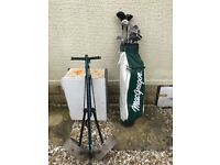 Golf Clubs, Bag and Trolley for sale