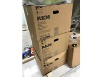 REM New in box 3 Salon Chairs and 2 Backwash's