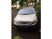 For Sale £495 Grey PEUGEOT 307. MOT and very reliable.