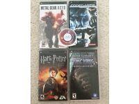 5 PSP Games