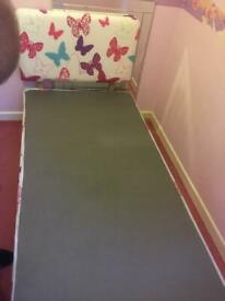 Mothercare White Single Midi Sleeper Cabin Bed With Really