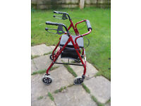 Pacer Seat Walker Mobility Aid
